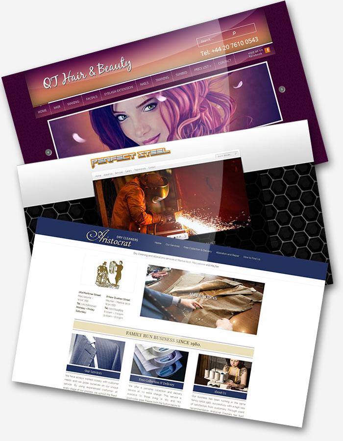 strony internetowe portfolio